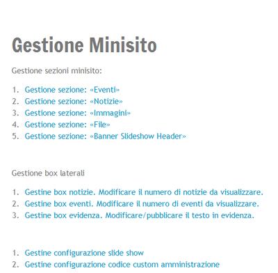 gestione_minisiti